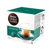 Nescafe Dolce Gusto Espresso Ristretto Capsules, Pack of 48 - 12219255