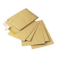 Q-Connect Manilla Gusset Peel and Seal Envelopes 120gsm, Pack of 100 - KF3526