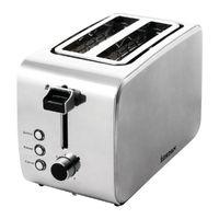 Igenix 2 Slice Stainless Steel Toaster - HID52925