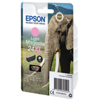 View more details about Epson 24XL Light Magenta Ink Cartridge - High Capacity C13T24364012
