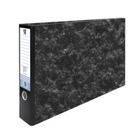 Black Cloud Effect A3 Landscape Lever Arch File - 9405002