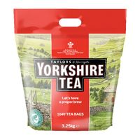 View more details about Yorkshire Tea Tea Bags, Pack of 1040 - 5007