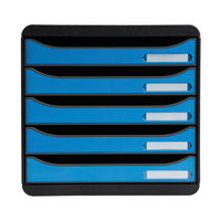 View more details about Exacompta Clean Safe BIG-BOX Plus 5 Drawers 3097100D