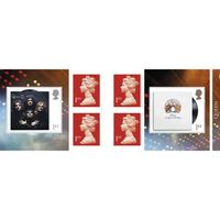 1st Class Stamps x 6 Pack - (Postage Stamp Book) - Queen