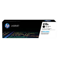 View more details about HP 410A Black Toner Cartridge - CF410A
