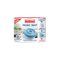 View more details about UniBond Aero 360 Moisture Absorber Large Refill (Pack of 2) 1554715