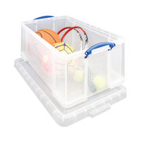Really Useful 64 Litre Storage Box with Lid - 64C