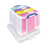 Really Useful 35 Litre Storage Box with Lid - 35C
