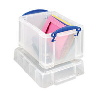 Really Useful 3 Litre Plastic Storage Box with Lid - 3C