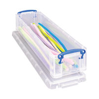View more details about Really Useful Pencil/Stationery Box - 1.5C