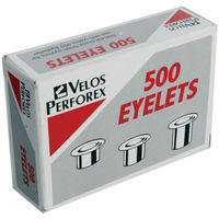 Rexel 4.2mm Eyelets, Pack of 500 - 20320051