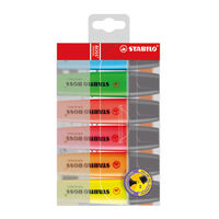 Stabilo Boss Original Assorted Highlighters, Pack of 6 - BR6004W-G(PCI)