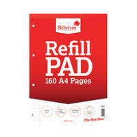 View more details about Silvine Headbound A4 Memo Pads - Pack of 6 - A4RPFM