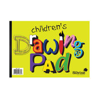 View more details about Silvine A4 Children's Drawing Pads, 12 Pack - 420