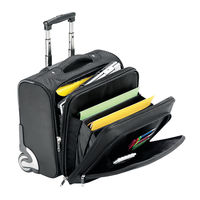 Falcon International Mobile Laptop Trolley Case - 2567T