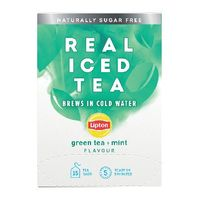 View more details about Lipton Mint Green Tea Real Iced Tea, Pack of 15 - 67737998