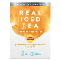 View more details about Lipton Mango Green Tea Real Iced Tea, Pack of 15 - 67737992