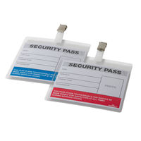 Durable Colour Coded Security Pass, Pack of 25 - DB90922