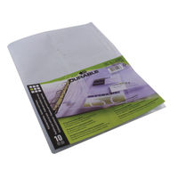 Durable Visifix A4 Business Card Album Refill Pockets, Pack of 10 - 2389