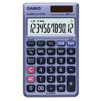Casio SL-320TER Pocket Calculator, 12 Digit Display - SL-320TER-S-GH