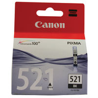 View more details about Canon CLI-521BK Photo Black Ink Cartridge 2933B001