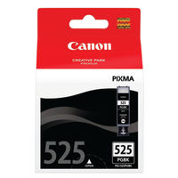 Canon PGI-525 Black Ink Cartridge Twin Pack - 4529B010