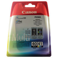 View more details about Canon PG-40/CL-41 Ink Cartridge Multipack 0615B036AA