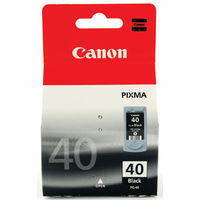 View more details about Canon PG-40 Black Inkjet Cartridge 0615B001