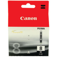 View more details about Canon CLI-8BK Black Ink Cartridge 0620B001