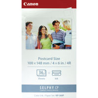 View more details about Canon KP-36IP SELPHY Colour Inkjet Cartridge and Papers CO04703