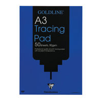 Goldline A3 Professional Tracing Paper, 50 Sheets - GPT1A3