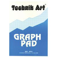 Technik Art Graph A4 Pad, 40 Sheets - XPG1