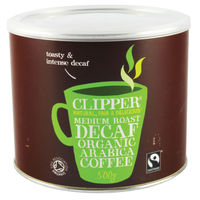 Clipper Fairtrade Organic Decaffeinated Medium Roast Instant Coffee - A06746
