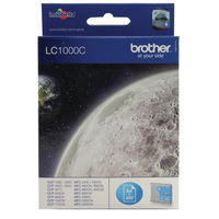 Brother LC1000C Cyan Ink Cartridge - LC1000C