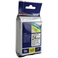 View more details about Brother TZe-251 Black on White 24mm P-Touch Label Tape - TZ251