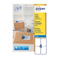Avery QuickDry Inkjet Address Labels 139 x 99.1mm (Pack of 400) - J8169-100