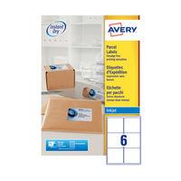 Avery QuickDry White Inkjet Address Labels 99.1x93.1mm (Pack of 600) - J8166-100