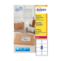 Avery QuickPEEL Recycled Laser Address Labels 99.1x67.7mm, Pk of 800 - AV81508