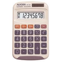 Aurora HC133 Pocket Calculator, 8 Digit Display - HC133