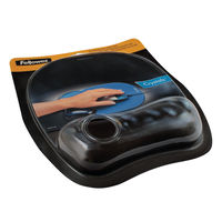View more details about Fellowes Black Crystal Gel Mouse Mat - 9112101