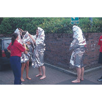 View more details about Wallace Cameron Emergency Foil Blanket (Pack of 6) 4803008
