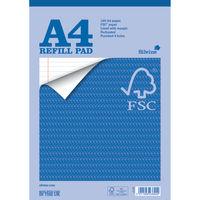 Silvine A4 Everyday FSC Notebook Refill Pads - Pack of 5 - FSCRP80