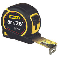 Stanley 8 Metre Retractable Tape Measure - 0-30-656