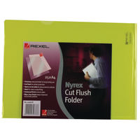 View more details about Rexel Nyrex Yellow A4 Cut Flush Folders - Pack of 25 - 12161YE