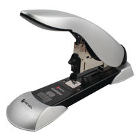 Rexel Gladiator Silver and Black Heavy Duty Stapler - 2100591