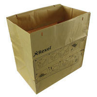 View more details about Rexel Recycling Shredder Large Bags, Pack of 50 - 2102248