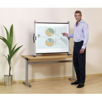 Nobo Portable Projection Screen, 1040 x 750mm - 1901954