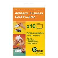 Pelltech 60 x 95mm Business Card Holders, Pack of 10 - PLH 25510