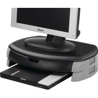 Q-Connect Monitor and Printer Stand - KF20081
