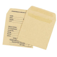 Q-Connect Manilla Wage Self Seal Envelopes 90gsm, Pack of 1000 - 778680